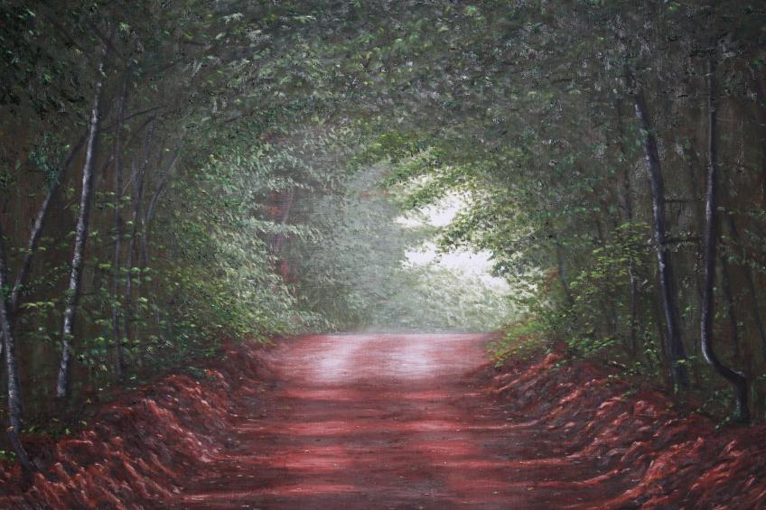Grady Road, Oil on Canvas, 36 x 48 in.