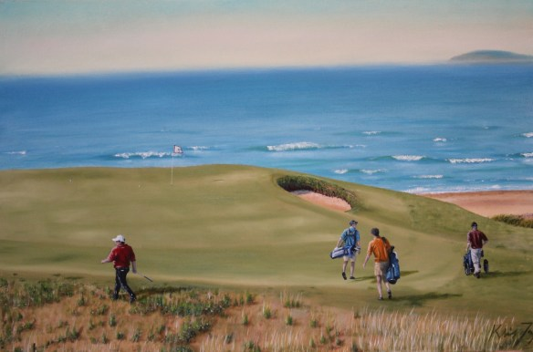 Cabot Links, Oil On Canvas, 24 x 36 in.